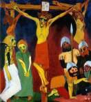 Emil Nolde - Crucifixión, 1911-1912
