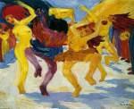 Emil Nolde - Dance Around the Golden Calf