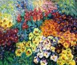 Nolde, Flower Garden Pansies