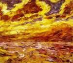 Nolde, Mar de otoño VII (Herbstmeer VII), 1910