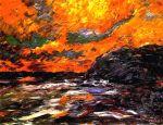 Nolde, Mar de otoño XI (Herbstmeer XI), 1910